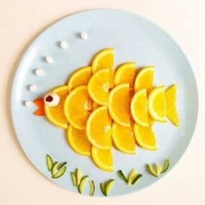 pez fruta