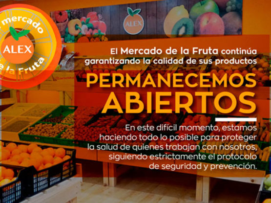el mercado de la fruta coronavirus
